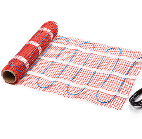 Electric Floor Heating Mat Under Tile Radiant Warming Mat
