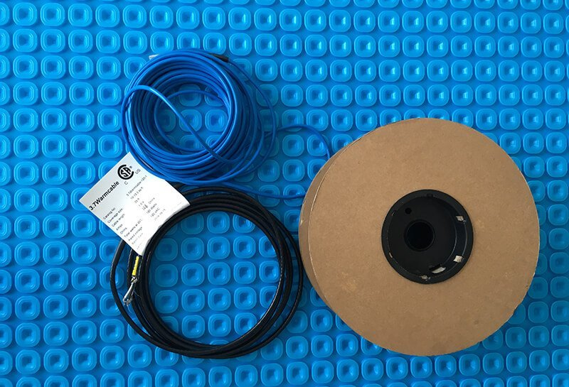 Rolled Cable And Membrane