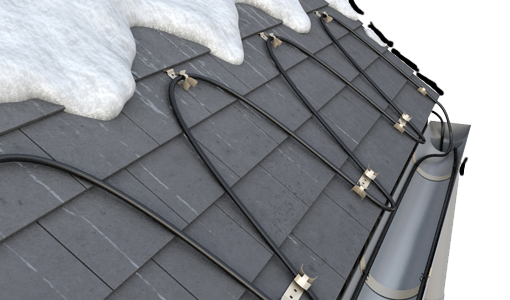 Roof & Gutter Heating Cables
