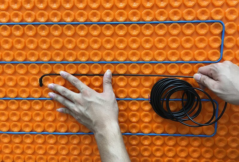 Floor Heating Cables for Membrane Installation