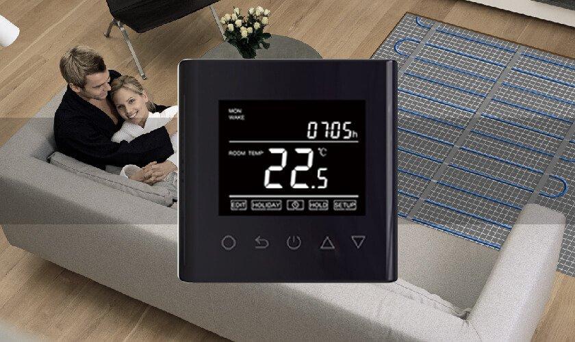 Warm Floor & Thermostat