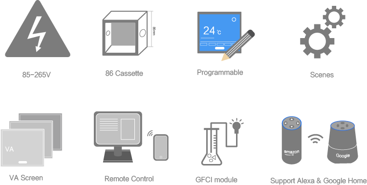 Features of ET72 Thermostat