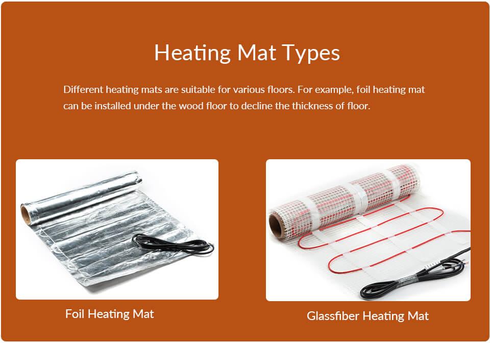 Heating Mat Types