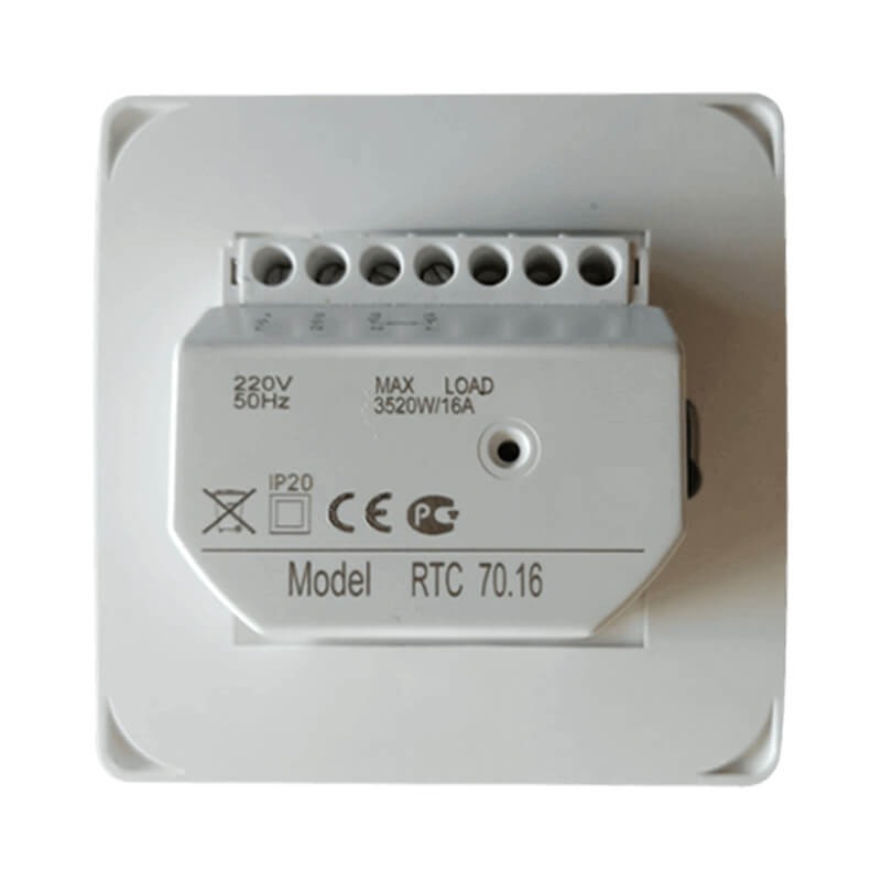 MT-26 mechanical thermostat Back
