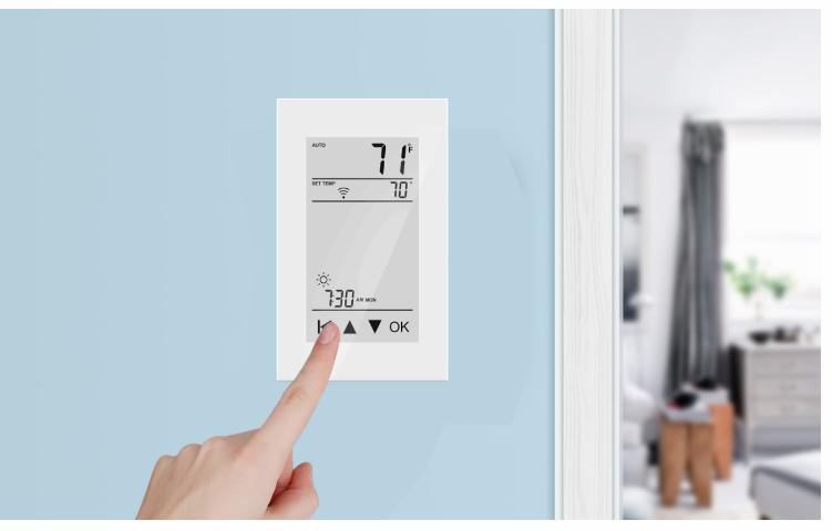 setting thermostat