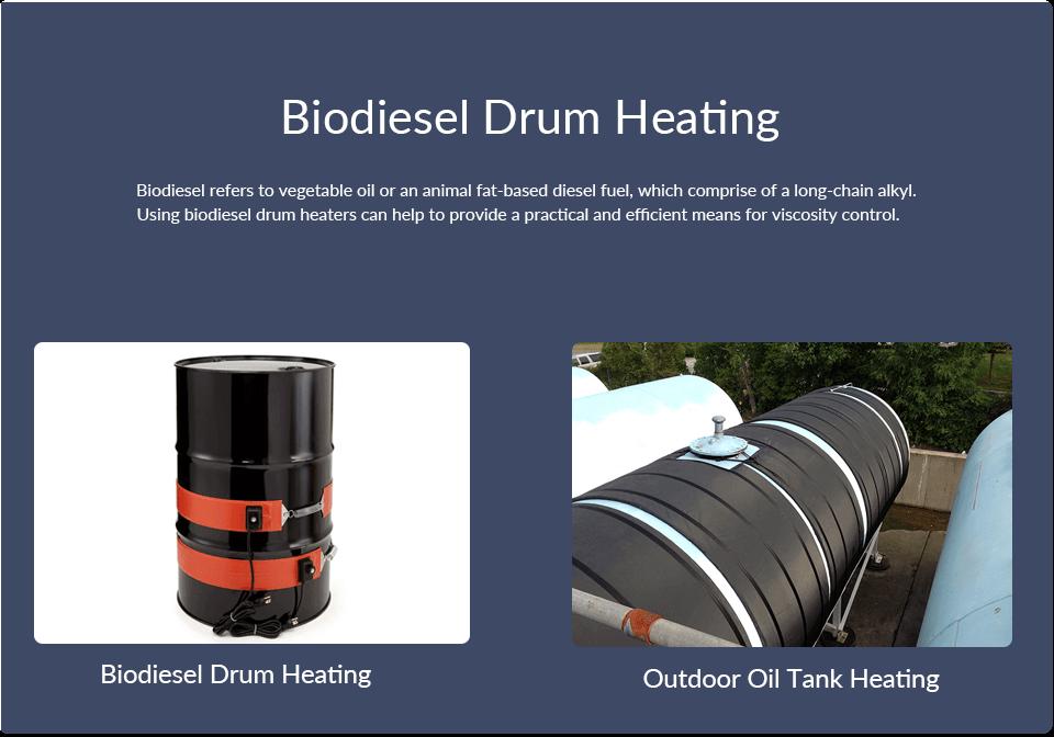 Biodiesel Drum Heating
