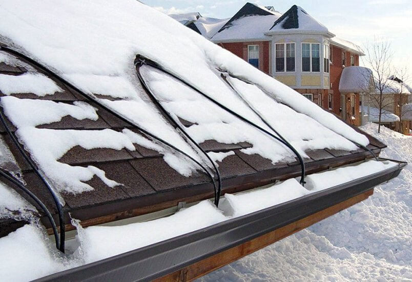 Roof & Gutter Deicing Cables