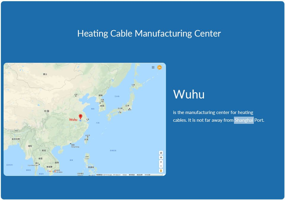 Heating Cable manufacturing Center