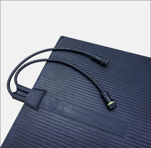 Connects of Heated Rubber Mat