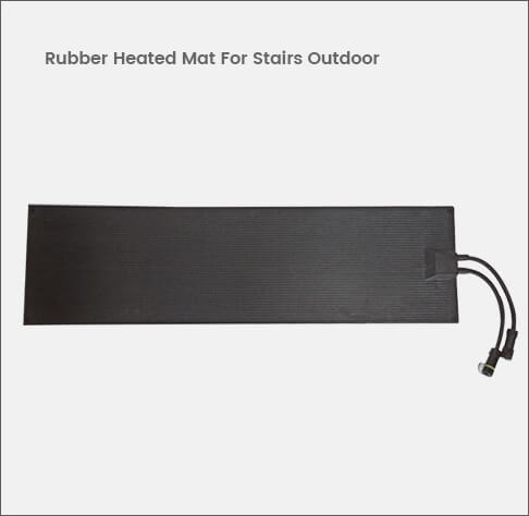 Rubber Heated Mat For Stairs Outdoor