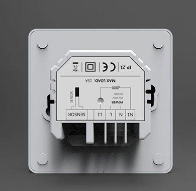 ET81 smart thermostat Back