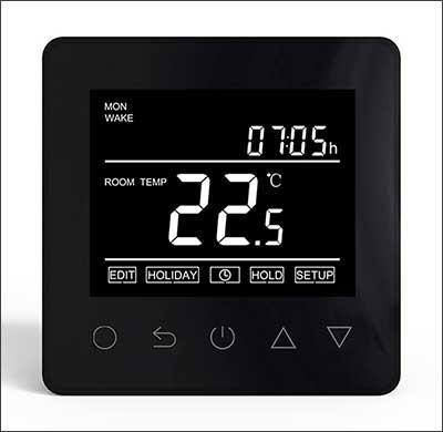Thermostat #ET-61 Black